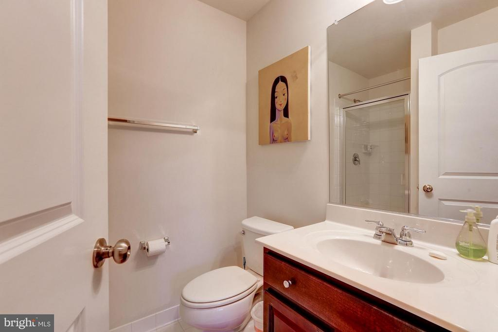Lower Level Bath - 15523 THISTLEBRIDGE CT, ROCKVILLE
