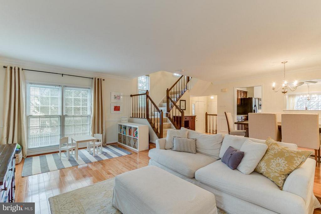 Living Room - 11745 GREAT OWL CIR, RESTON