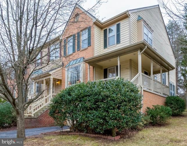 End Unit Borders Green Space & Trees - 11745 GREAT OWL CIR, RESTON
