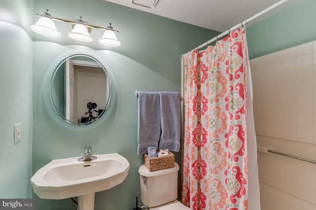 Lower Level Full Bathroom - 11745 GREAT OWL CIR, RESTON