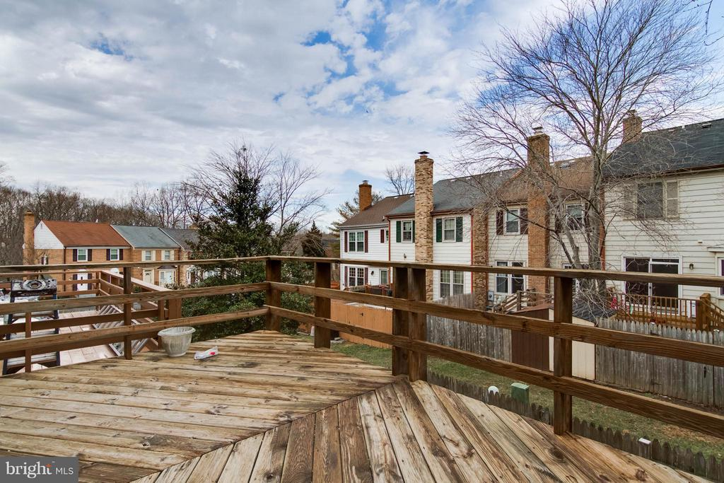 Exterior (Rear) Deck - 11755 CRITTON CIR, WOODBRIDGE
