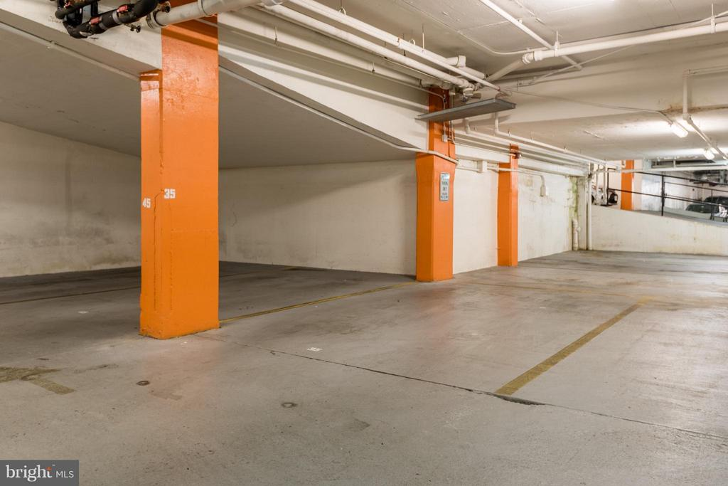 Garage parking space near elevator - 1718 P ST NW #806, WASHINGTON