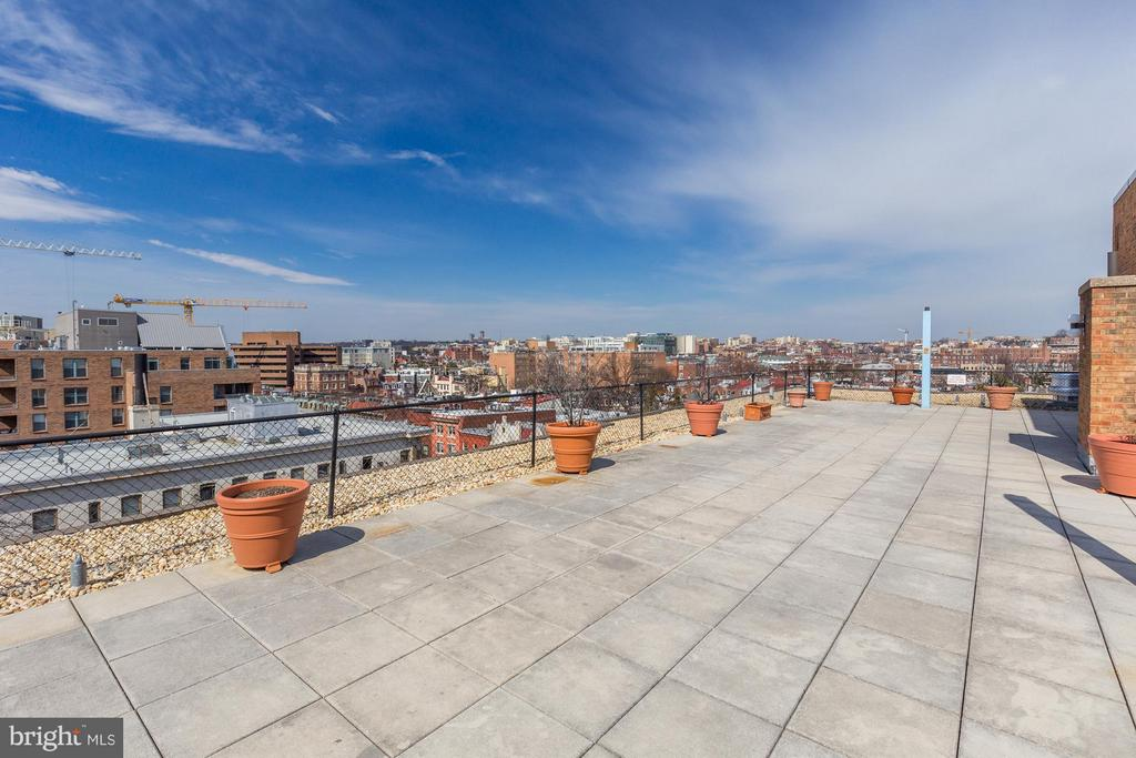 Roof deck - 1718 P ST NW #806, WASHINGTON