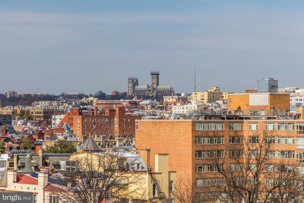 Roof top views - 1718 P ST NW #806, WASHINGTON