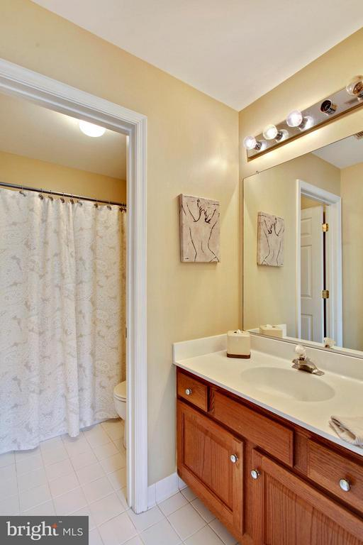 Hall bath - 9336 SUMNER LAKE BLVD, MANASSAS