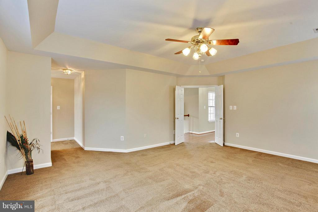 Master bedroom with walk in closet - 9336 SUMNER LAKE BLVD, MANASSAS