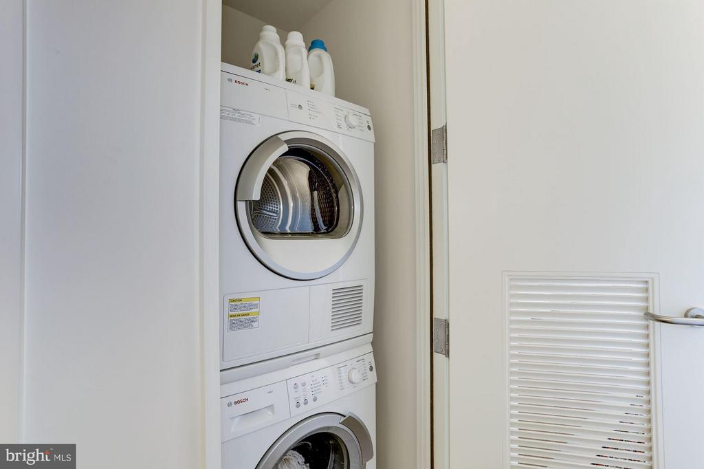 Washer and Dryer in unit - 925 H ST NW #908, WASHINGTON