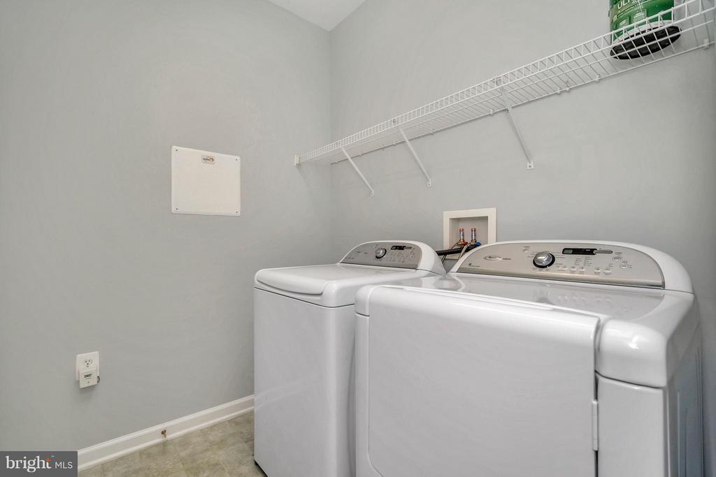 Laundry - 20 HARTFORD WAY #20, FREDERICKSBURG