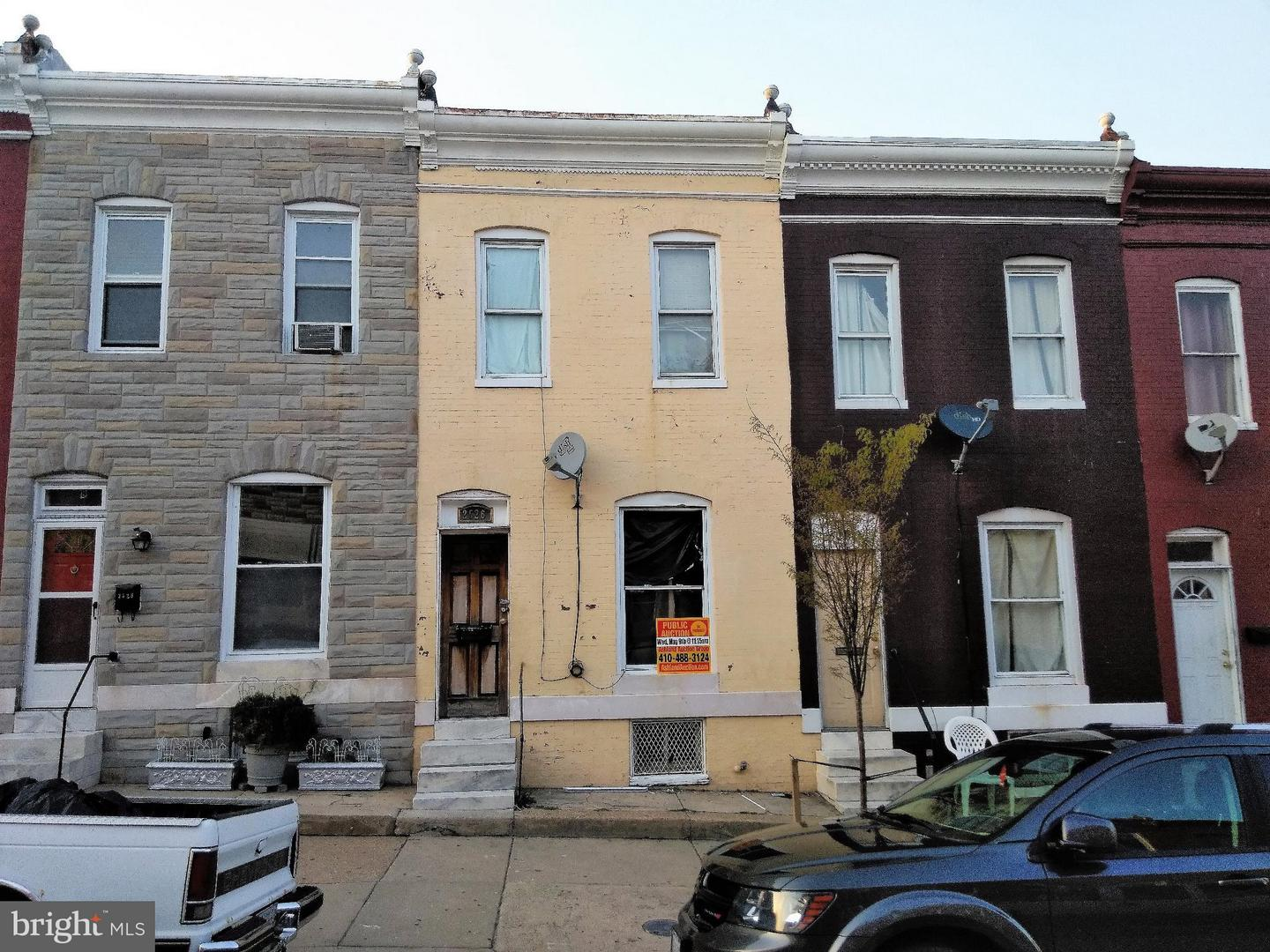 Single Family for Sale at 2526 Fayette St Baltimore, Maryland 21223 United States