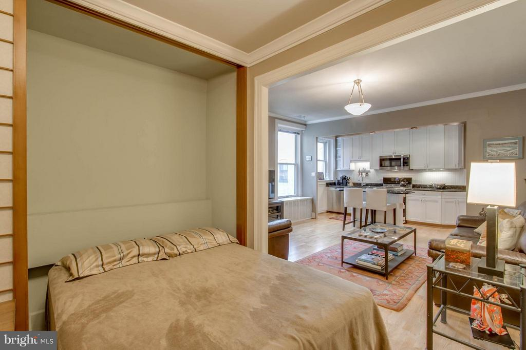 Murphy Bed - 1734 P ST NW #55, WASHINGTON
