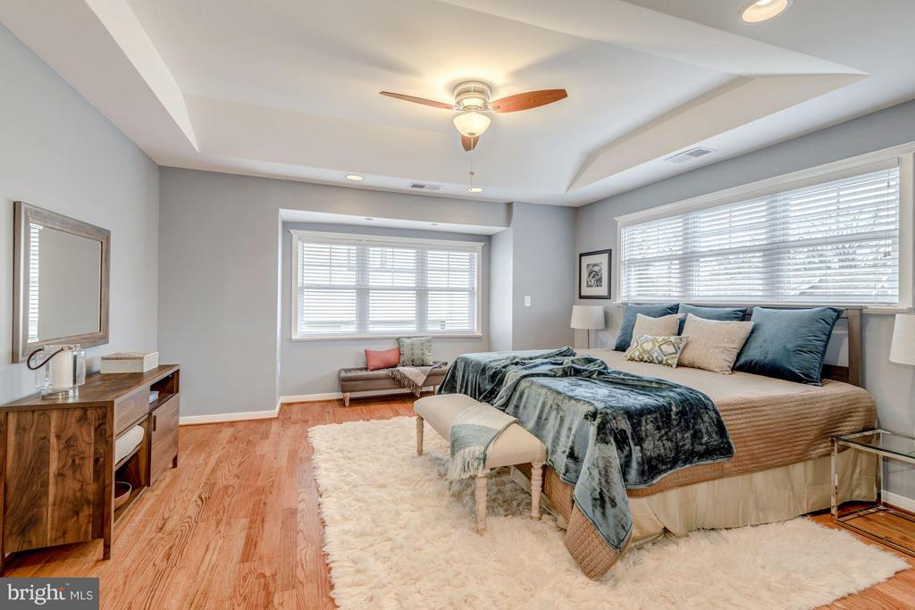 Spacious Master with Plenty of Natural Light - 232 CLEVELAND ST N, ARLINGTON