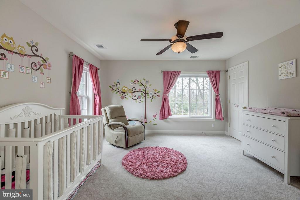 Bright Bedroom with Plush Carpet - 7313 PINE DR, ANNANDALE