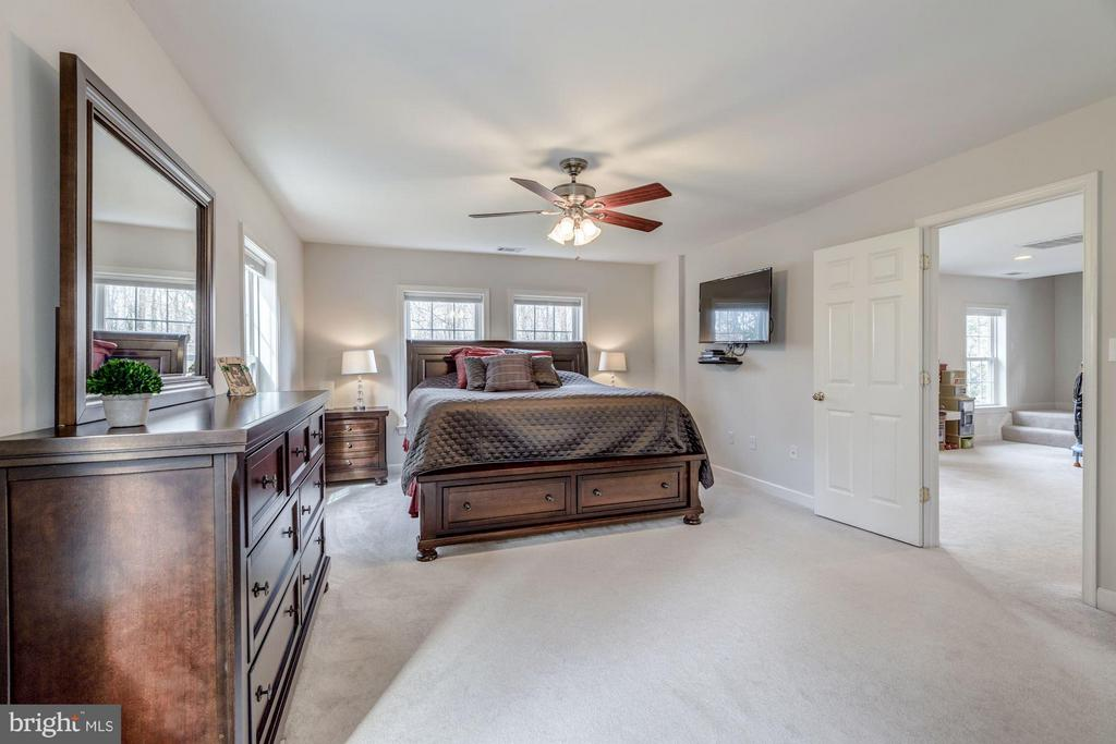 Spacious Master Suite with Plush Carpet - 7313 PINE DR, ANNANDALE