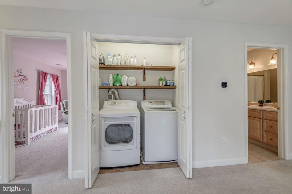 Laundry Conveniently Located Upstairs - 7313 PINE DR, ANNANDALE