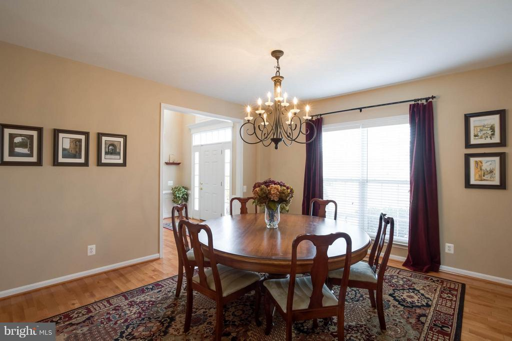 Separate Dining Room - 43723 WOODVILLE CT, CHANTILLY