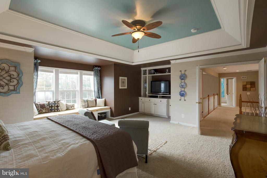 Custom Lighting and Built-ins - 43723 WOODVILLE CT, CHANTILLY