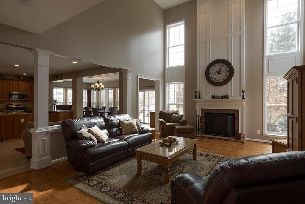 Family Room - 43723 WOODVILLE CT, CHANTILLY