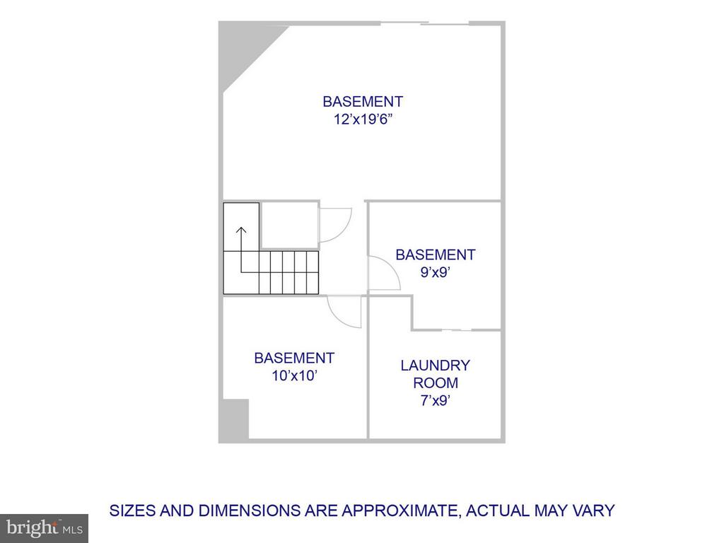 Lower Level Layout - 6637 ROCKLEIGH WAY, ALEXANDRIA