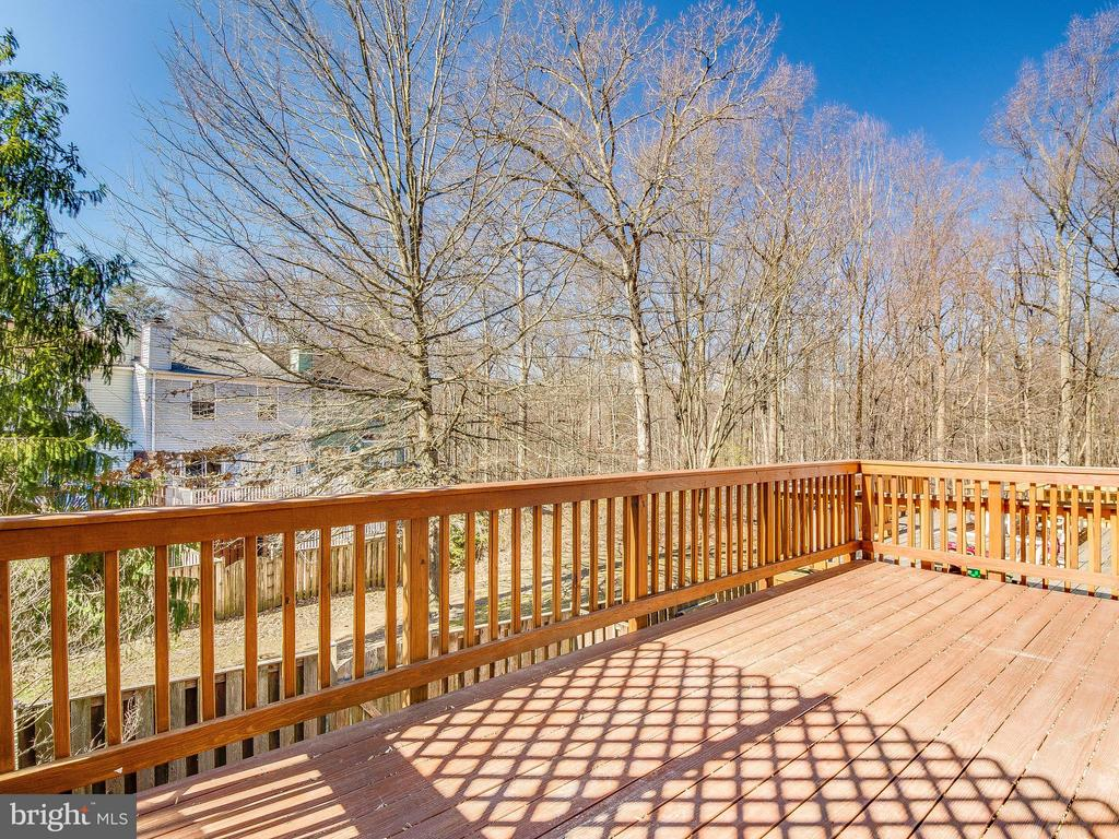 Deck Backs to Woods - 6637 ROCKLEIGH WAY, ALEXANDRIA