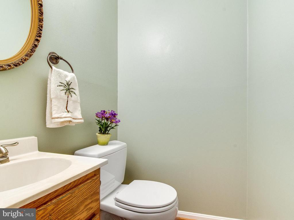 Powder Room on Main Floor - 6637 ROCKLEIGH WAY, ALEXANDRIA
