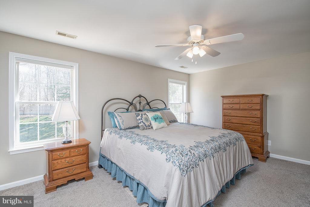 Large Master Bedroom , new carpet. - 7 BURNINGBUSH CT, STAFFORD