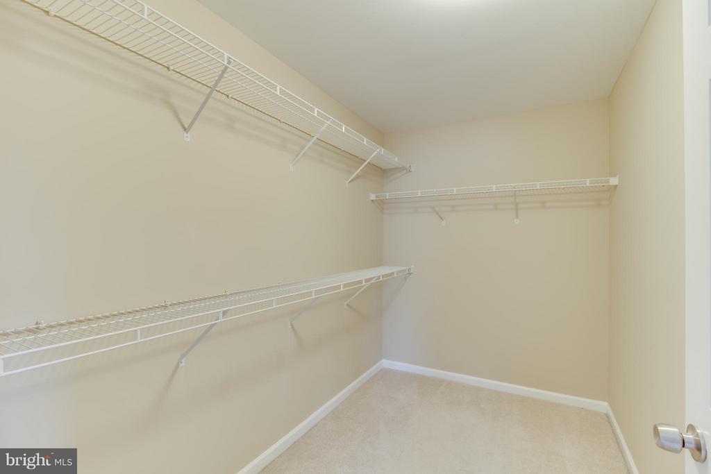 HUGE Walk In Closet - 15529 WIGEON WAY, WOODBRIDGE