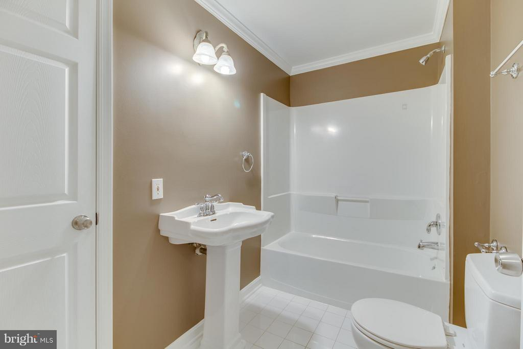 Full Bath in Basement - 15529 WIGEON WAY, WOODBRIDGE