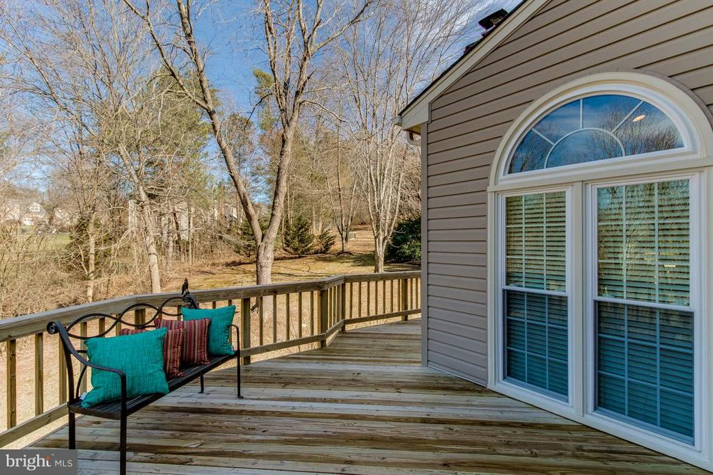 Wrap Around deck - 12106 COURTNEY CT, HERNDON