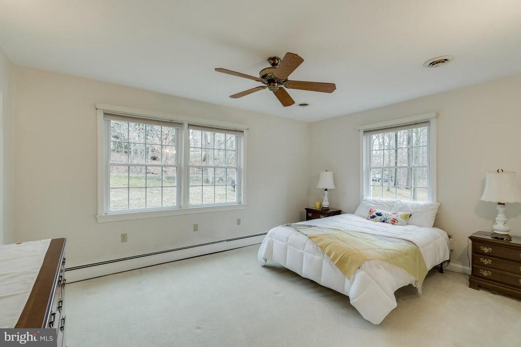 Master Bedroom on main level - 6505 WAVERLEY ST, ALEXANDRIA