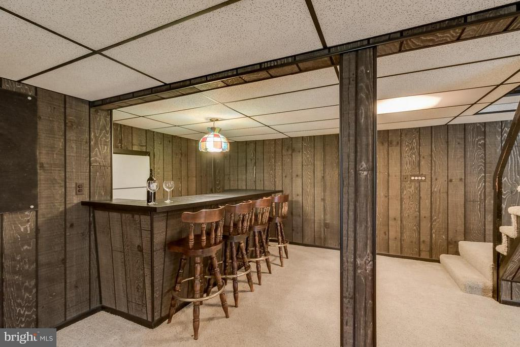 Finished basement ready to serve - 6505 WAVERLEY ST, ALEXANDRIA
