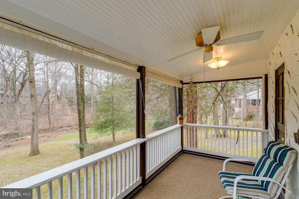 Looking out to the creek. - 6505 WAVERLEY ST, ALEXANDRIA
