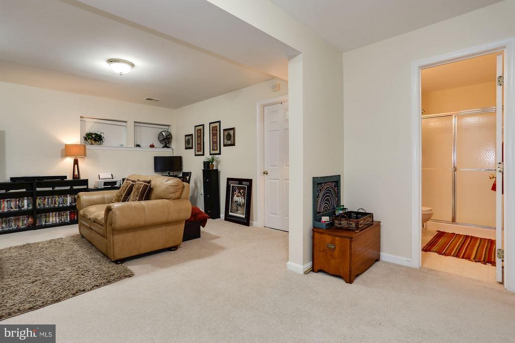 Large Rec Room & Full Bath - 7655 HENRY KNOX DR, LORTON