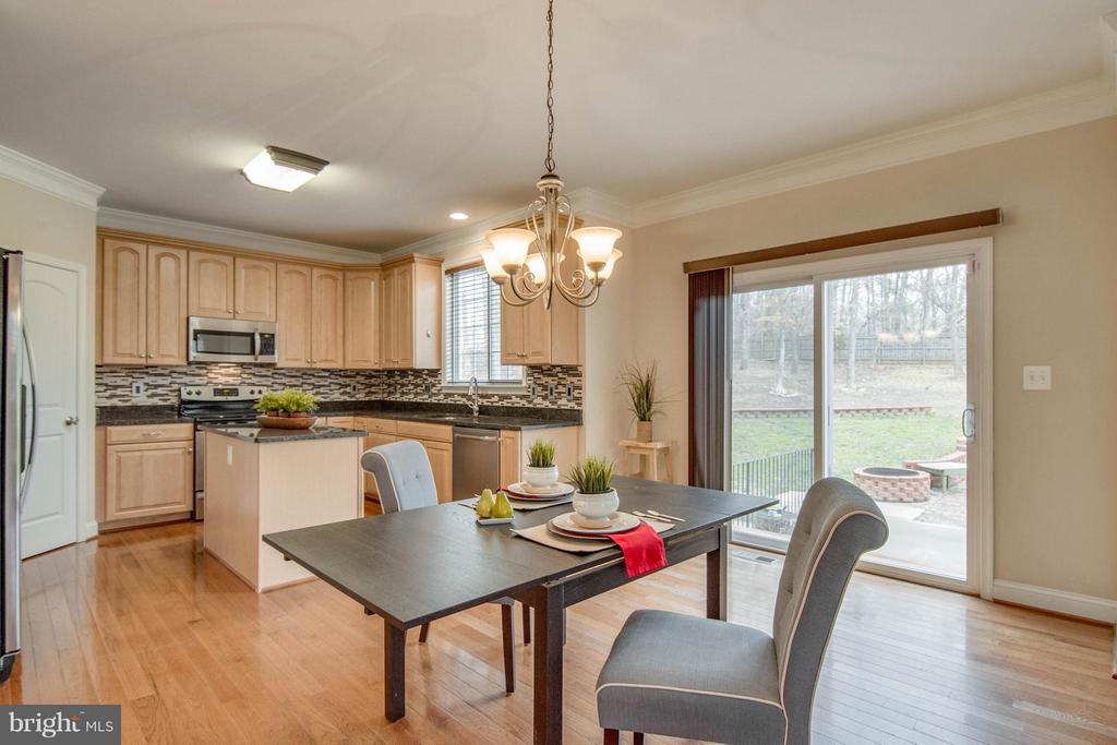 Kitchen Breakfast Nook - 11809 MOLAIR RD, MANASSAS