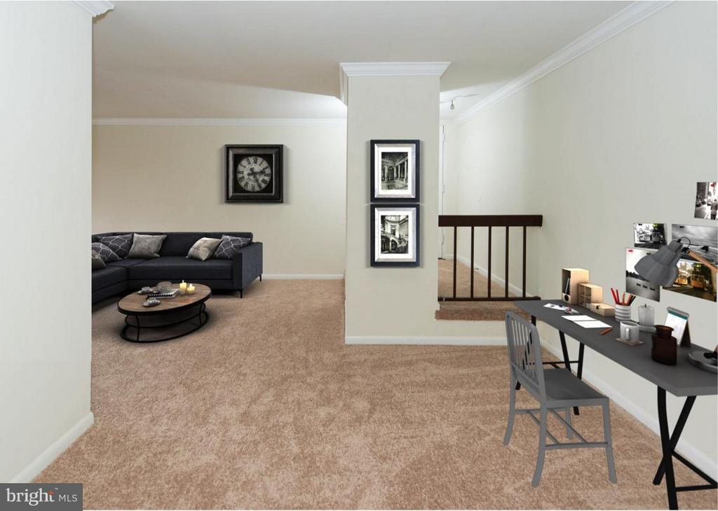 Great space for office or reading nook - 11252 CHESTNUT GROVE SQ #346, RESTON