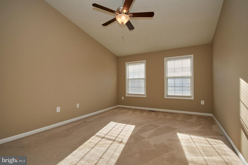 Large master bedroom with vaulted ceiling - 8397 CLEVELAND BAY CT, GAINESVILLE