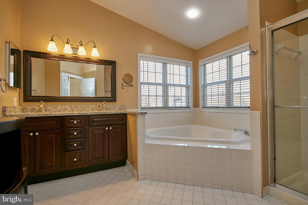 Updated bath with vaulted ceiling & skylight - 8397 CLEVELAND BAY CT, GAINESVILLE