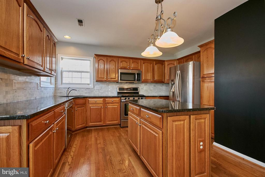 Updated gourmet kitchen with granite counter tops - 8397 CLEVELAND BAY CT, GAINESVILLE