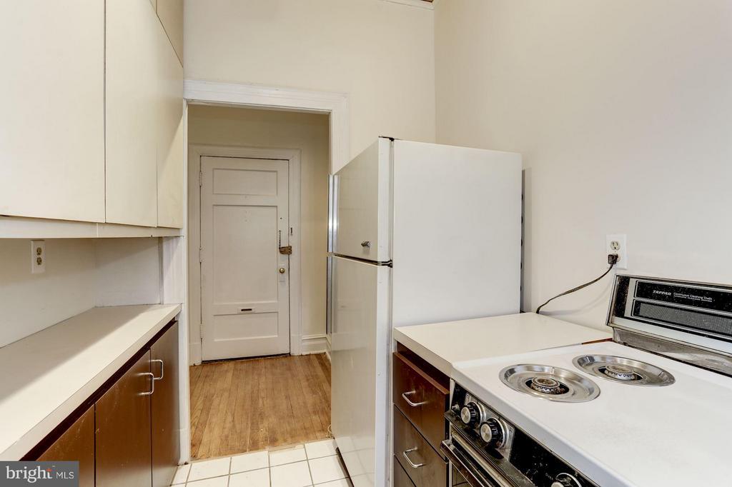 Kitchen - 1526 17TH ST NW #116, WASHINGTON