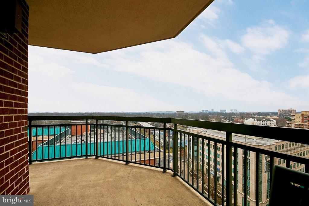 Balcony - 901 MONROE ST N #1310, ARLINGTON