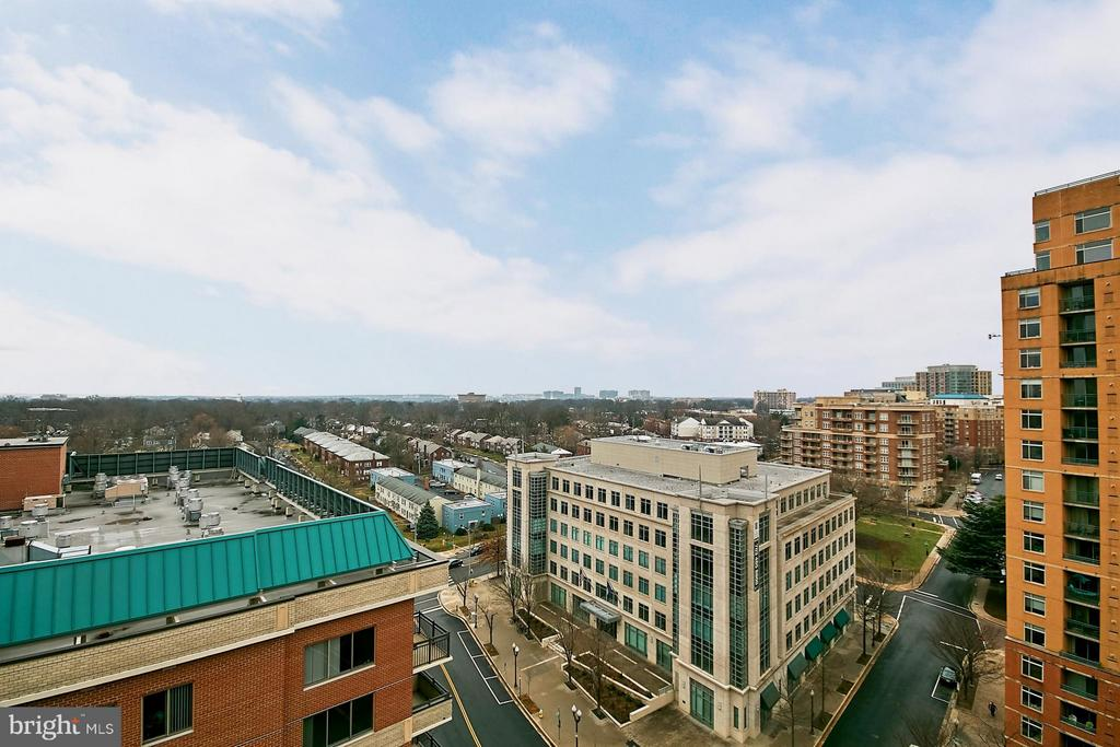 Wrap Around Balcony View - 901 MONROE ST N #1310, ARLINGTON