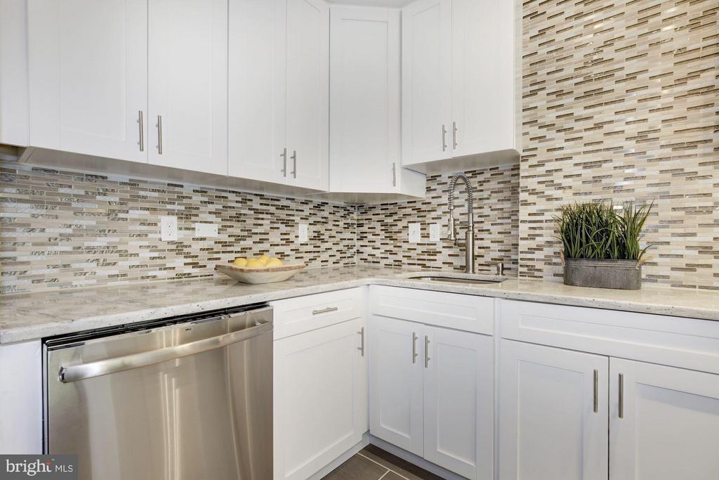 Kitchen - 4600 CONNECTICUT AVE NW #412, WASHINGTON