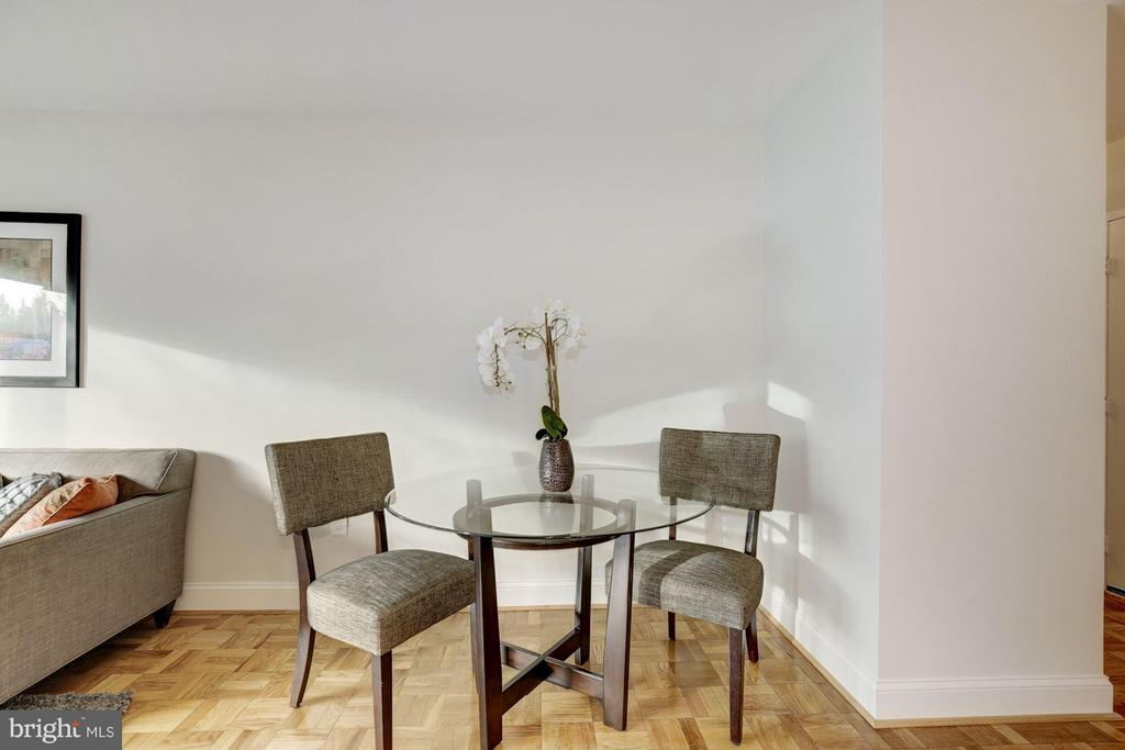 Dining Room - 4600 CONNECTICUT AVE NW #412, WASHINGTON