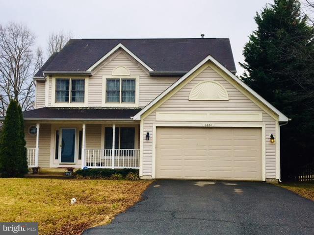Exterior (Front) - 6824 RED ROSE VILLAGE DR, FREDERICKSBURG