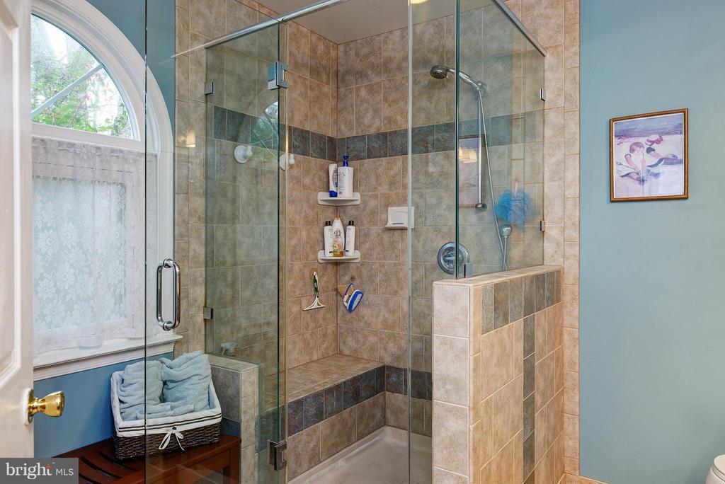 Updated with Tile & Glass Shower - 5527 CEDAR BREAK DR, CENTREVILLE