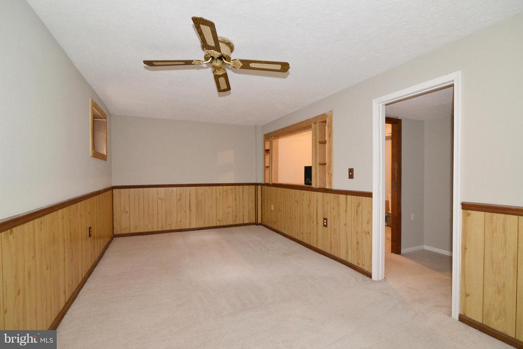 Finished rec room - 325 NANSEMOND ST SE, LEESBURG