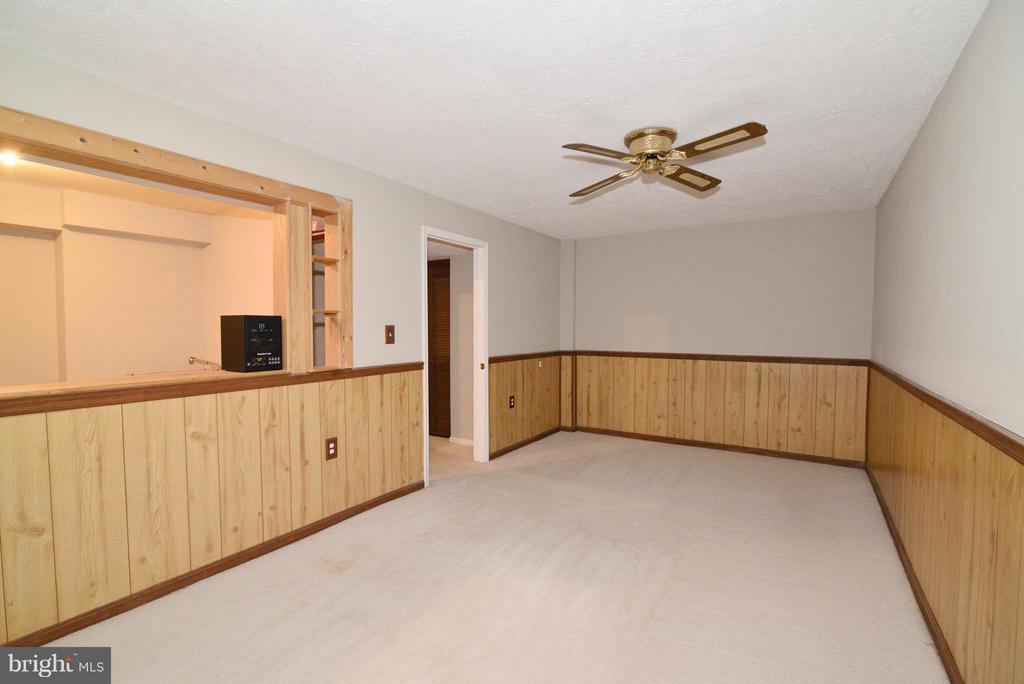 Finished Rec Room - 325 NANSEMOND ST SE, LEESBURG