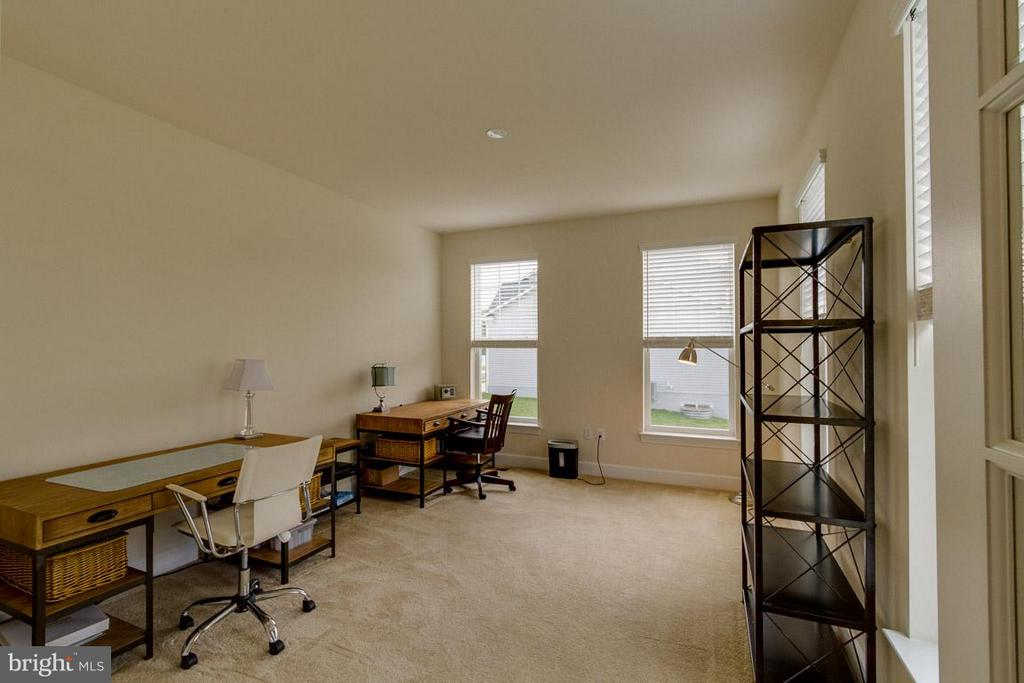 Office with French Doors on the Main Level - 7617 CHESTNUT ST, MANASSAS