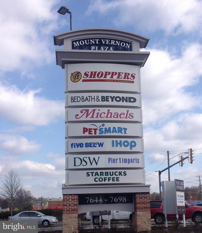 Mt Vernon Plaza- Restaurants and Shopping - 7847 COLONIAL SPRINGS BLVD, ALEXANDRIA