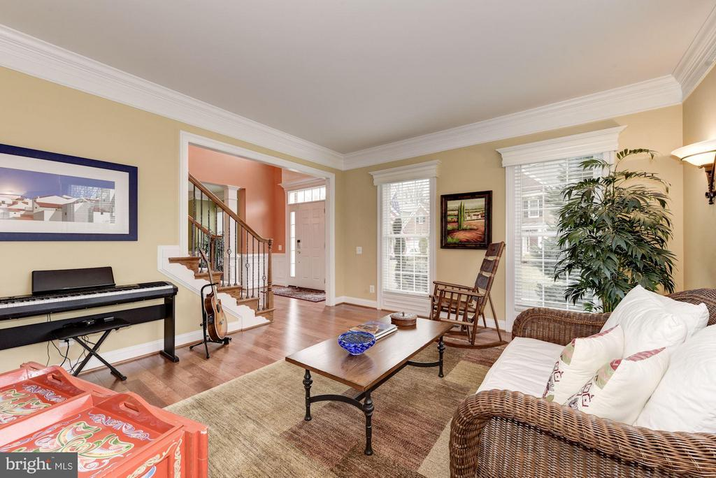 Sun-Filled Living Room - 8928 RHODODENDRON CIR, LORTON