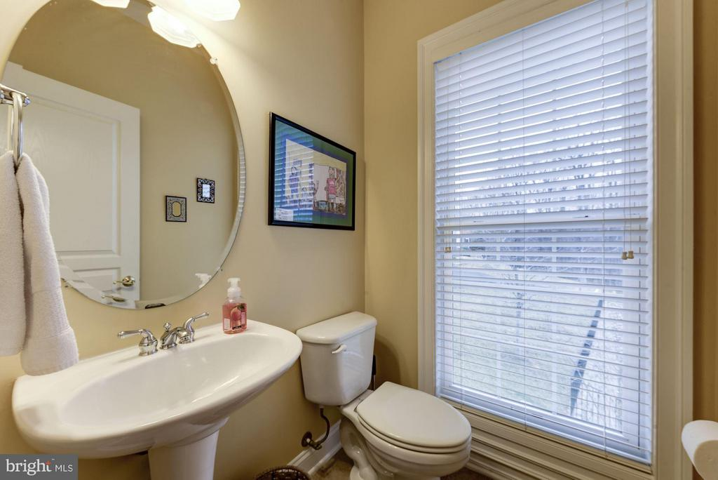Powder Room on Main Level - 8928 RHODODENDRON CIR, LORTON